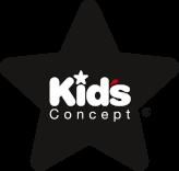 Kids Concept baby tæppe med navn broderet på