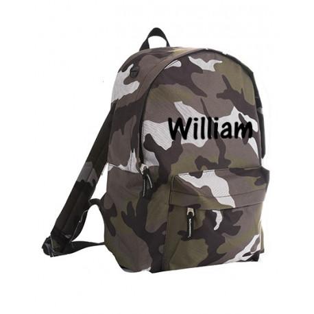Army rygsæk med navn på
