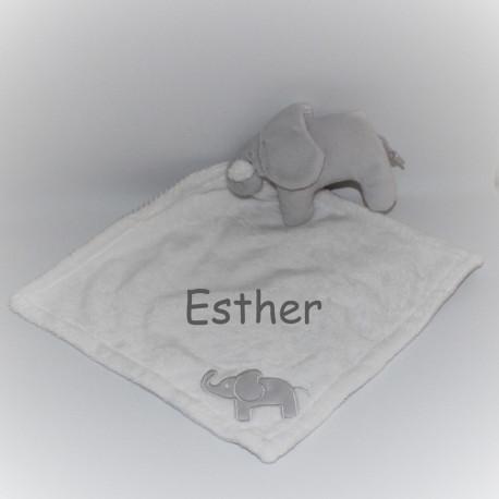Rättstart elefant sutteklud med navn på