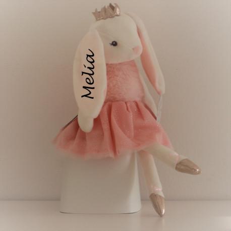 Teddykompaniet Ballerinas kanin bamse med navn på