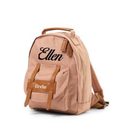 Elodie Details faded rose rygsæk med navn på