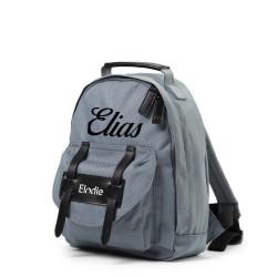 Elodie Details tender blue rygsæk med navn på
