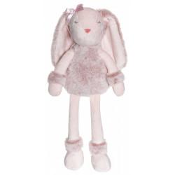 Teddykompaniet  rosa Flufisser Iris kanin med navn på