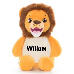 Cubbies Løve bamse med navn på
